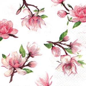 ペーパーナプキン(33)TETEaTETE:(5枚)Magnolia Springs-TE26