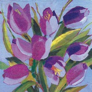 ペーパーナプキン(33)ppd:(5枚)Tulips Musee-PP436