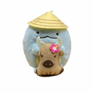 石垣島限定 すみっコぐらし 【水牛でぶらり ぬいぐるみキーチェーン とかげ】