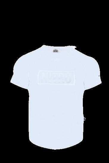 BRAND LOGO T-SHIRTS WHITE