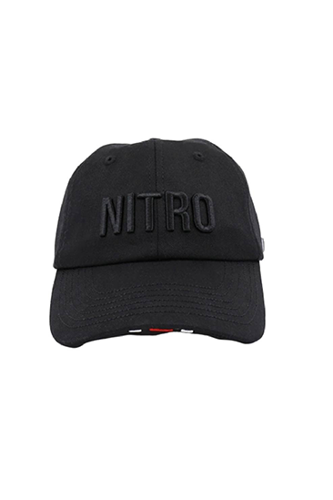 BRAND LOGO CAP BLACK