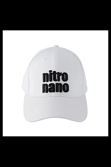 nitro nano Baseball Cap White