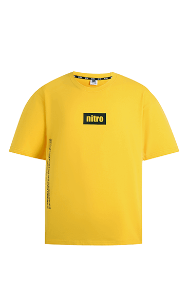 nitro nano Side Will T-shirts Yellow
