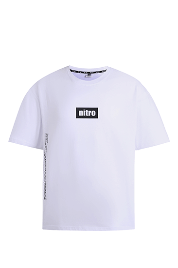 nitro nano Side Will T-shirts White