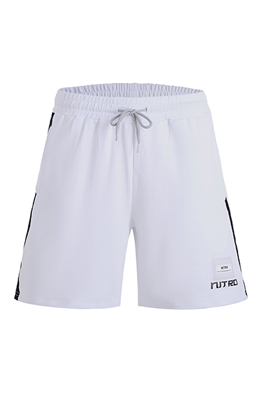 Game of Nitrogen Half Shorts White
