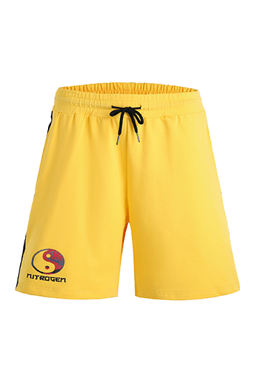 Game of Nitrogen Half Shorts Yellow