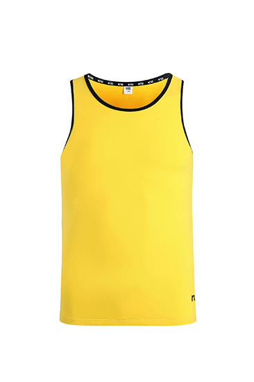 Nitro Tiger Tank Top Yellow