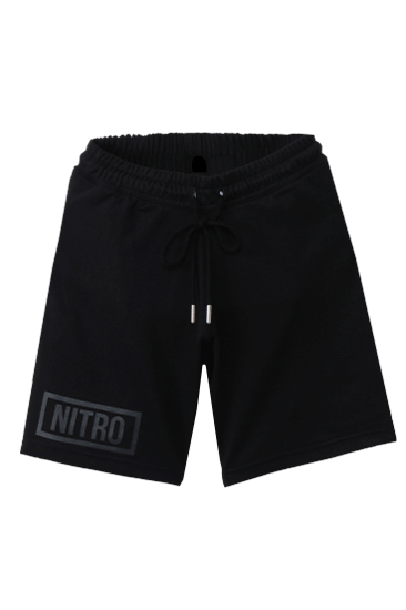 Black Logo Shorts Blk