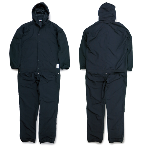 L&R NYLON HOODED OVERALL