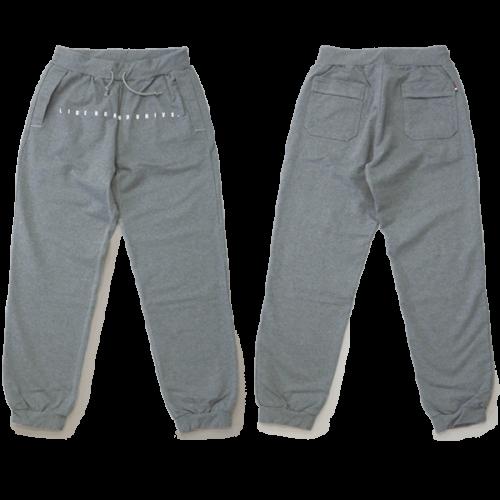L&R SWEAT BULLET PANTS