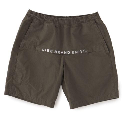 L&R WASHED ZIP SHORTS