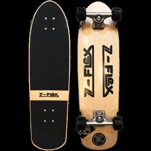 Z-FLEX 30inch CRUISER COMPLETE WOOD