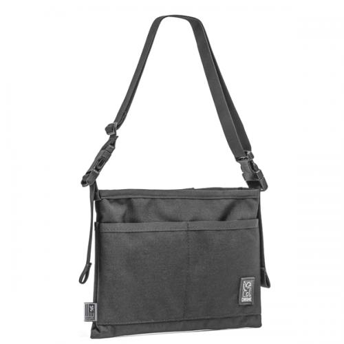 CHROME / MINI SHOULDER BAG BLACK
