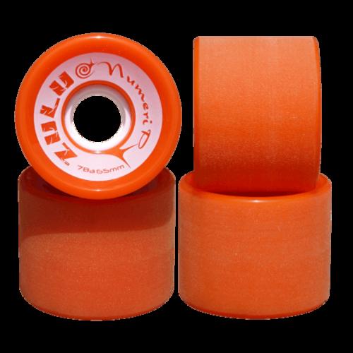 ZULU WHEELS ヌメリップ 78A 65mm オレンジ