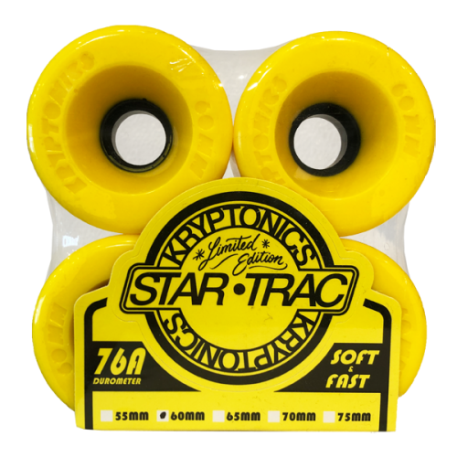 KRYPTONICS / STAR TRAC 60mm 76A (YELLOW)