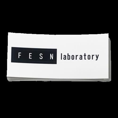 FESN laboratory LOGO STICKER (80mmx10mm)