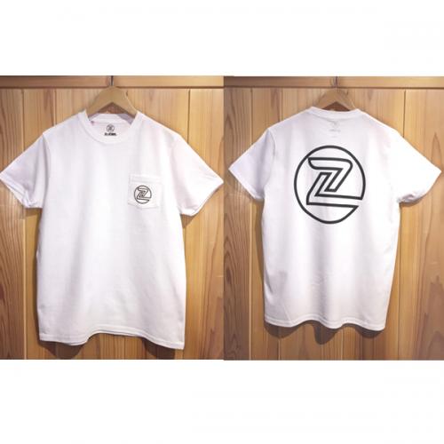 Z-FLEX JAPAN 限定 Z-FLEX USA MADE POCKET T-Shirt / WHITE