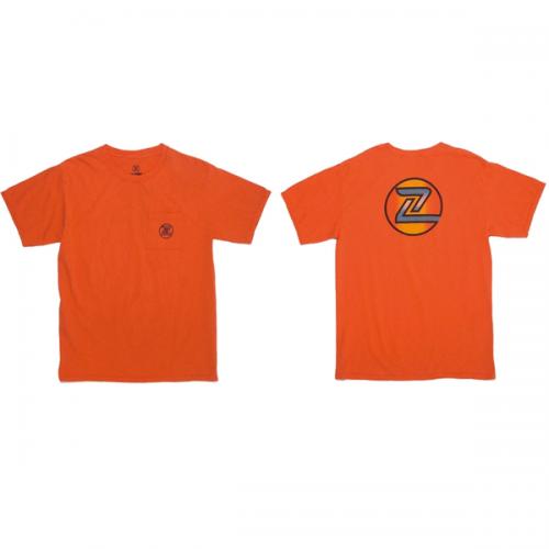 Z-FLEX JAPAN 限定 70's ZRAINBOW T-Shirts  /ORANGE
