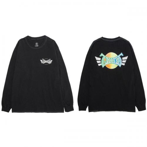 Z-FLEX JAPAN 限定 90's ZSKATES LS-T-Shirt / BLACK