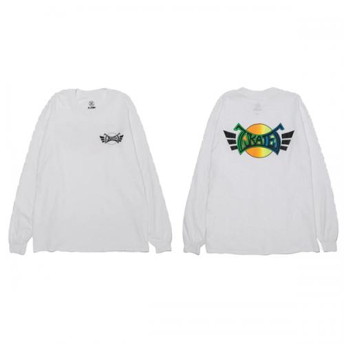 Z-FLEX JAPAN 限定 90's ZSKATES LS-T-Shirt WHITE