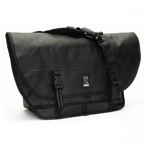 CHROME / CITIZEN TARP MESSENGER BAG BLACKxBLACK