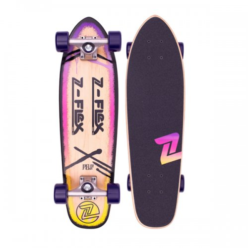 Z-FLEX JAY ADAMS 27inch COMPLETE P.O.P PURPLE
