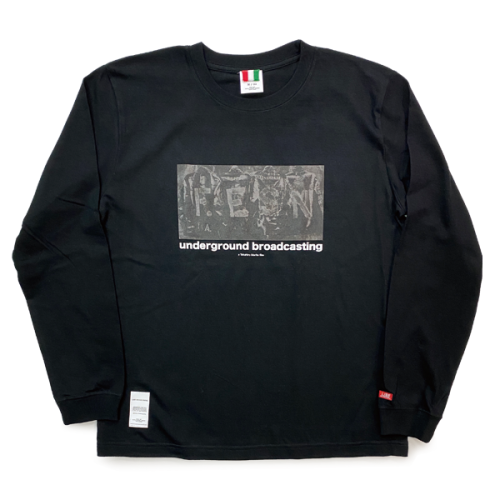 underground broadcasting LONG SLEEVE T-SHIRTS