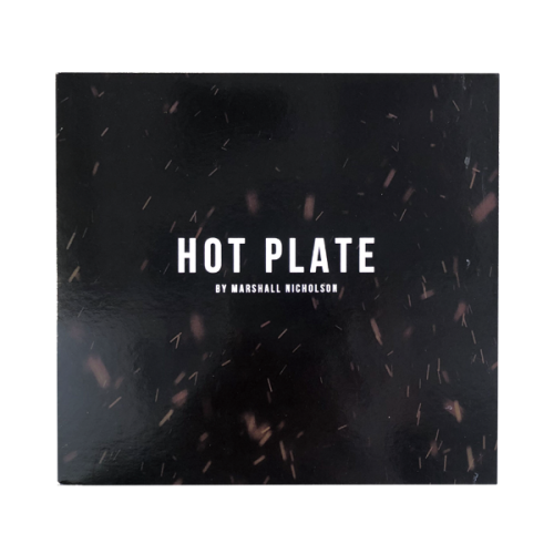 "DVD ""HOT PLATE"" by Marshall Nicholson"