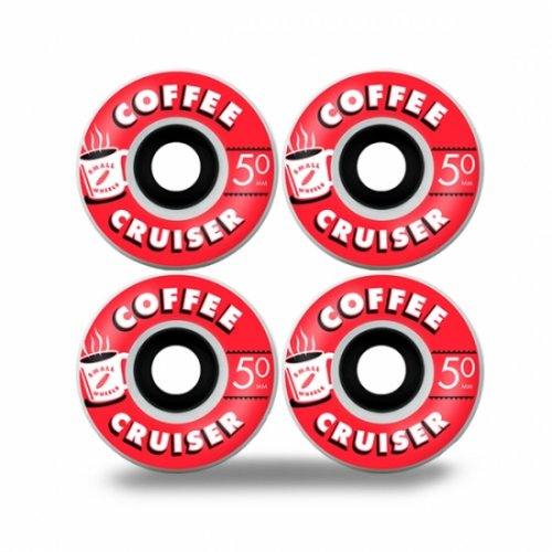 sml. wheels / COFFEE CRUISER CHARCOAL 50mm 78A