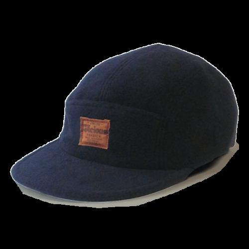 Gacious / FLEECE JET CAP / BLACK