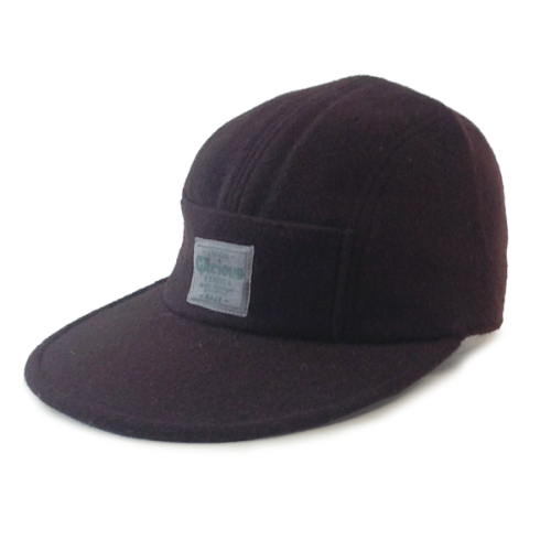 Gacious / WOOL JET CAP / BROWN