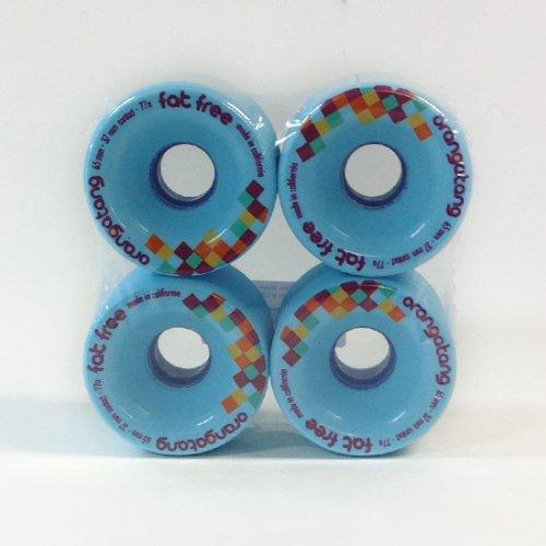 ORANGATANG WHEELS  FAT FREE 77A  65mm ブルー