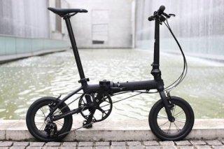 DAHON K3 Matte Black/Carbon Wheel(ケー3 マットブラック/カーボンホイール仕様)
