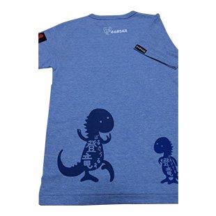 登竜Tシャツ (杢スカイ)