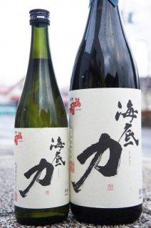 《やや辛口》大吟醸・海底力(そこぢから)きたしずく・北海道 福司酒造
