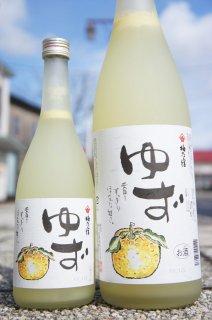 《リキュール》梅乃宿(うめのやど)ゆず酒・奈良県 梅乃宿