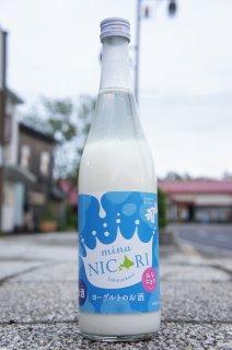《リキュール》福司(ふくつかさ)ヨーグルトのお酒 mina NICORI(みなニコリ)・北海道 福司酒造