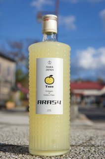 《リキュール》梅乃宿(うめのやど)ARA54 ゆず酒・奈良県 梅乃宿