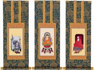 仏壇用掛軸 臨済宗・70代