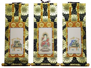 仏壇用掛軸(総紋上仕立て) 天台宗・20代