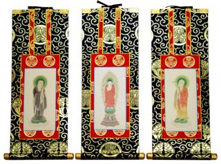 仏壇用掛軸(総紋上仕立て) 浄土宗・70代