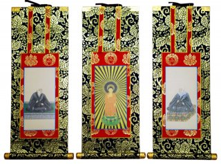 仏壇用掛軸(総紋上仕立て) 浄土真宗本願寺派・70代