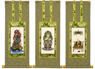 仏壇用掛軸(手書上仕立て) 真言宗・30代