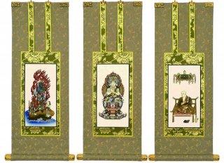 仏壇用掛軸(手書上仕立て) 真言宗・70代