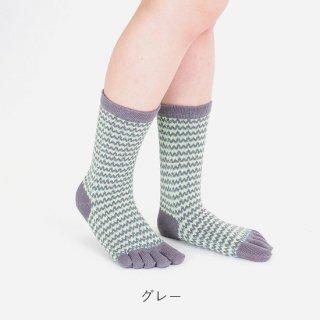 シク柄五本指靴下