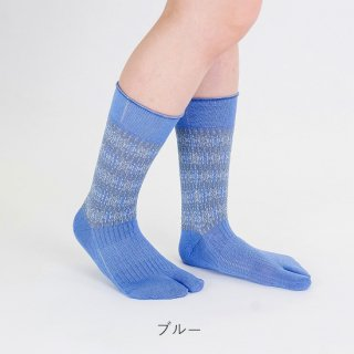 トールミー柄足袋靴下