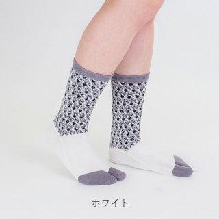 リントゥ柄足袋靴下