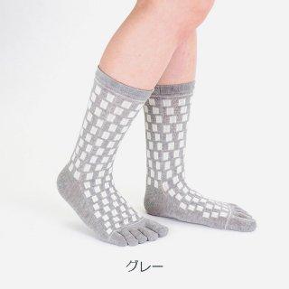 TOKIO柄五本指靴下