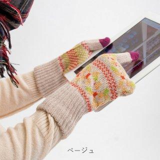 ミズキ柄 3D手袋