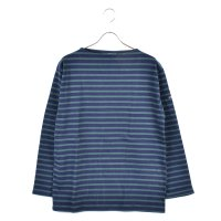 < SAINT JAMES / セントジェームス > OUESSANT BORDER NAVY / PIN